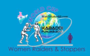 INDIA Women Kabaddi Team Players - Raiders & Stoppers 2013.