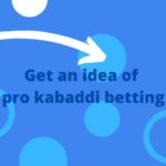 Online pro kabaddi betting