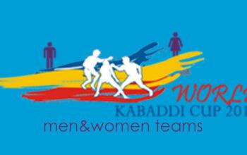 पुरुष और महिला विश्व कबड्डी कप 2014 टीमें।